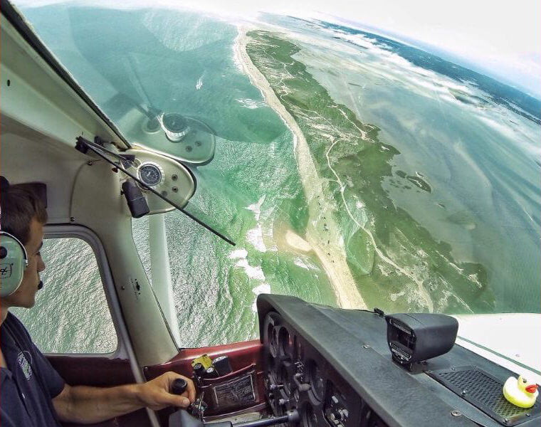 Stick'n Ridder Tours of cape cod from above