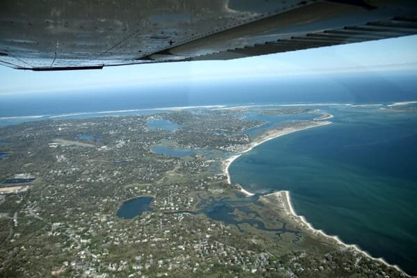 See The Cape Cod National Sea Shore from above via Stick'n Rudder Tours.